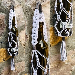 ▪️Macrame Wine Carrier DUO Colors ▪️